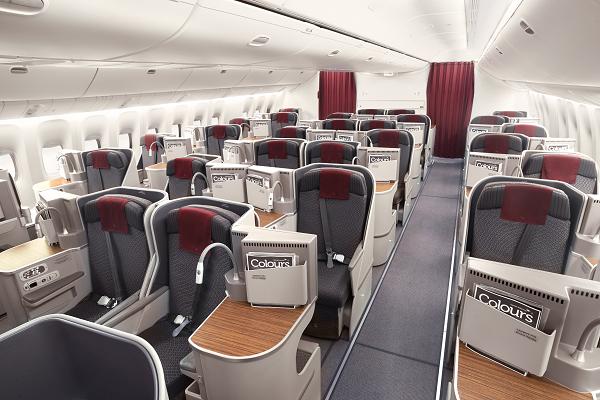 Garuda Indonesia business class B777-300ER