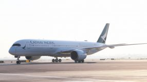 Cathay Pacific's inaugural Tel Aviv A350 flight