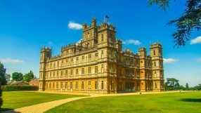 Downton Abbey castle filming location