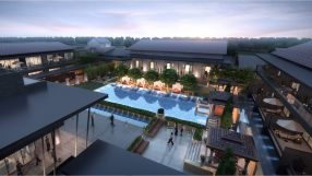 Rendering of the Dusit Thani Wetland Park Resort Nanjing