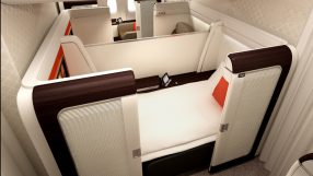 Garuda Indonesia B777-300ER first class