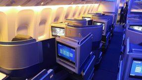 United B777-300ER Polaris Business class