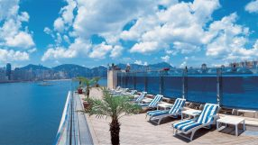 Harbour Grand Kowloon Lower Pool Deck