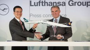 Lufthansa and Cathay Pacific