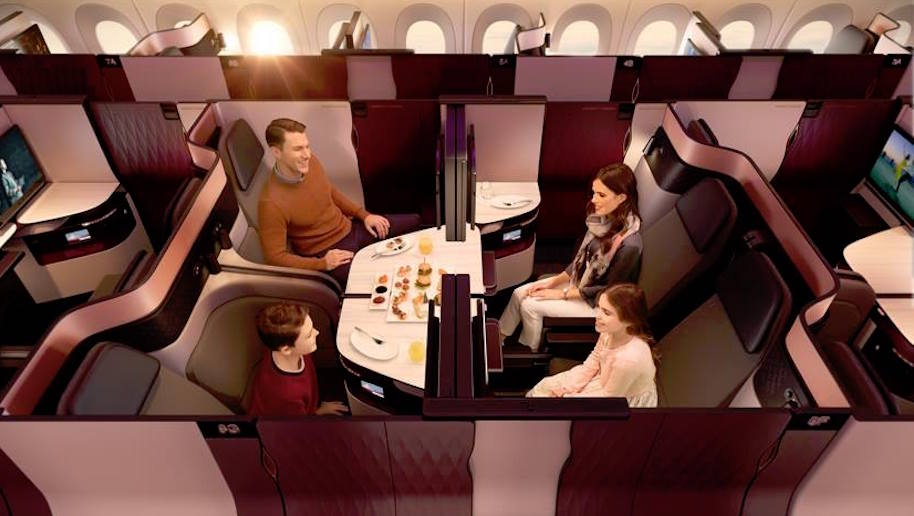Qatar Airways unveils new Business Class