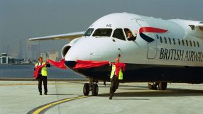 The launch of BA Cityflyer