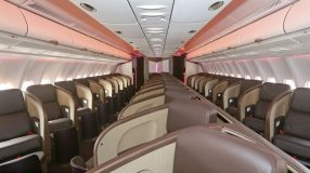 Virgin Atlantic's new A330 Upper Class