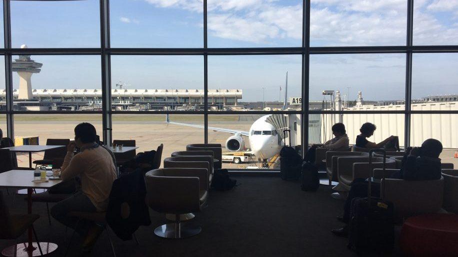 Air France business class lounge Washington DC