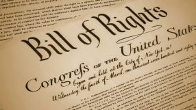 Replica of a Bill of Rights
