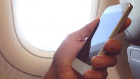 Mobile phone in-flight