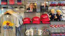 Trump memorabilia (copyright Jenny Southan)