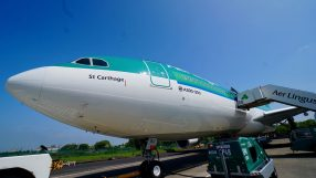 Aer Lingus St Carthage A330 aircraft