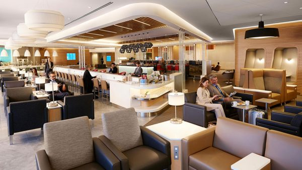 American Airlines Flagship Lounge at New York JFK