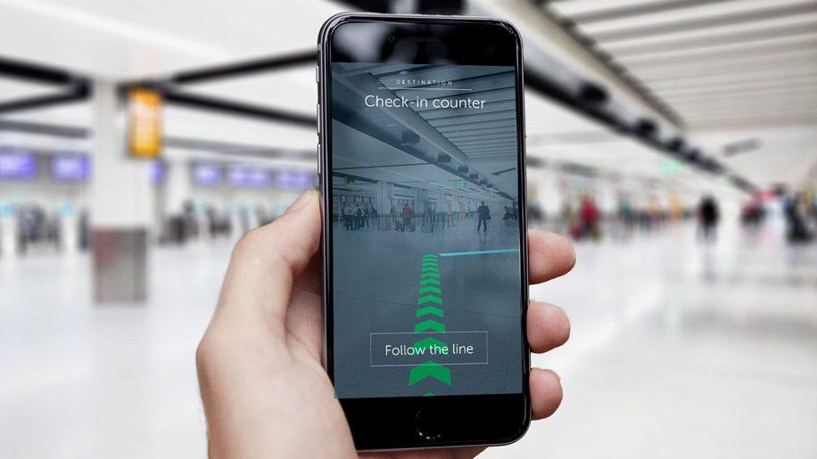 Gatwick augmented reality
