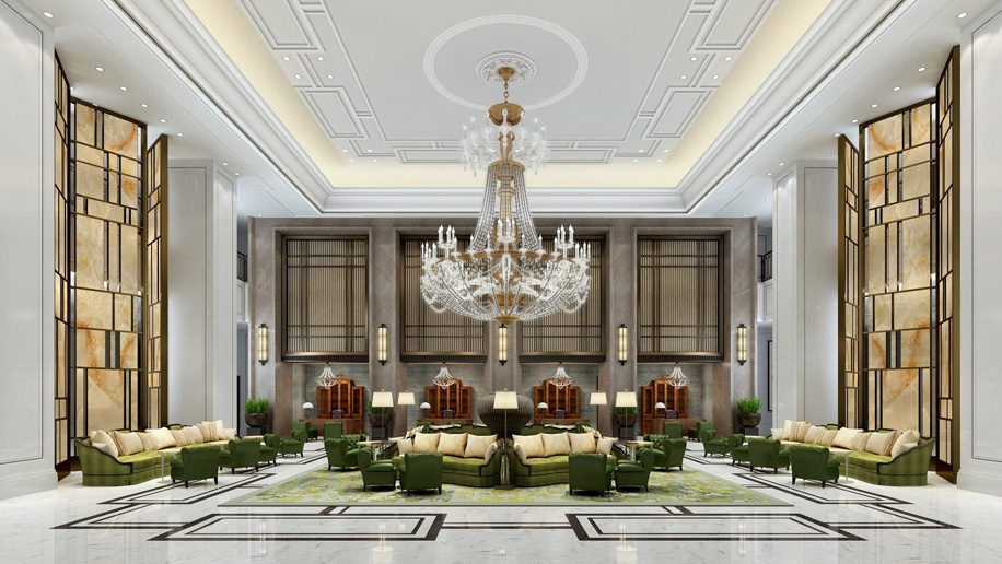 St Regis Shanghai Jingan lobby