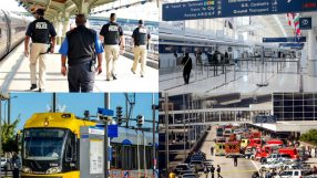 Unsecured airport areas