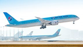 Korean AIr B787-9 Dreamliner