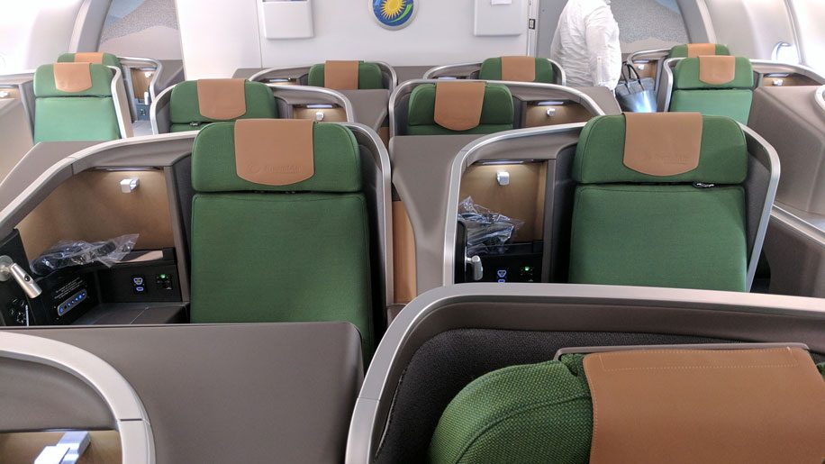 Rwandair Business-class