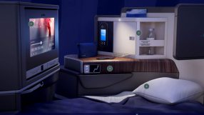 El Al Dreamliner business class