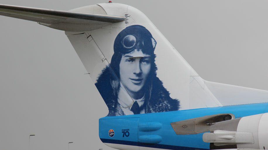 KLM farewell Fokker 70