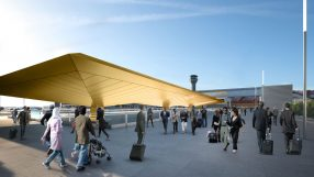 Rendering of Luton Airport Central Terminal