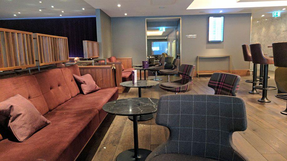 No1 Lounge Gatwick North Seating