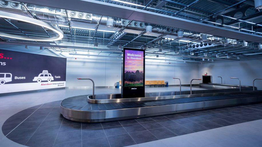Aberdeen Airport domestic arrivals