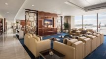 Emirates Boston lounge