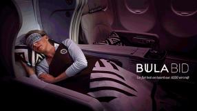 Fiji Airways Bula Bid promotion