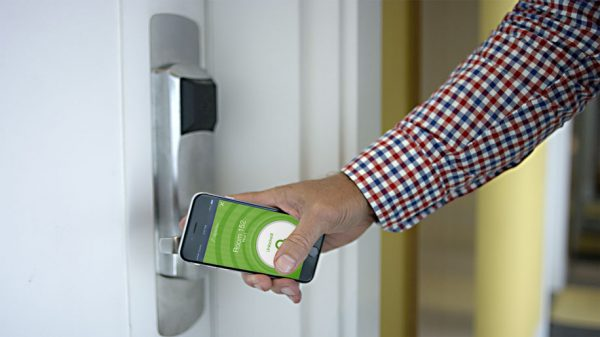 Hilton Honors app room key technology