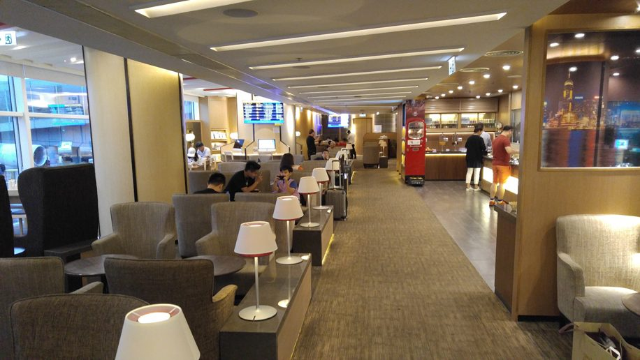 Hong Kong Airlines lounge area