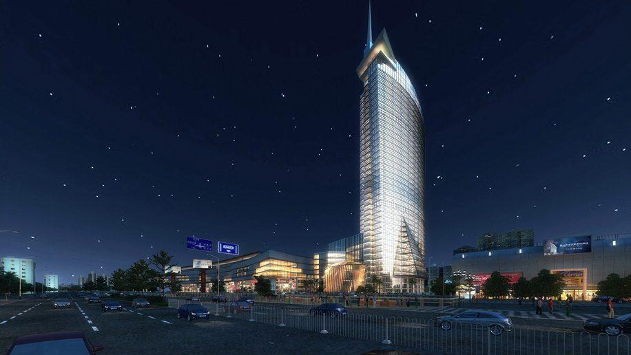 Sofitel Foshan Hotel Exterior - Night