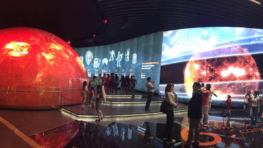 Expo Astana exhibit