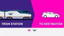 Amtrak and Lyft