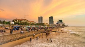 Colombo seafront at sunset (iStock)