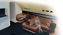 Qantas A380 new lounge rendering