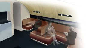 Qantas A380 new lounge rendering