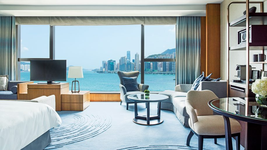 Kerry Hotel Hong Kong - Club Premier Sea View Room