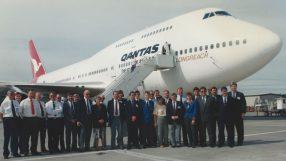 Qantas B747-400 (VH-OJM)