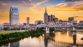 Skyline of downtown Nashville, Tennessee, USA (iStock)