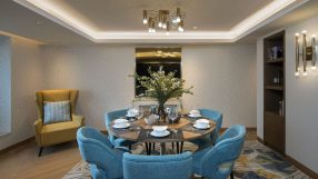 Tianfu Square Serviced Suites by Lanson Place - Lounge round table