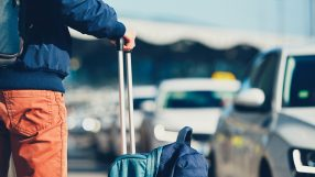 Traveller at airport (iStock)