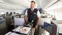 New British Airways Club World catering