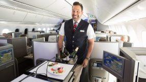 New British Airways Club World catering