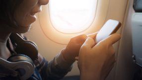 Using mobile onboard a flight